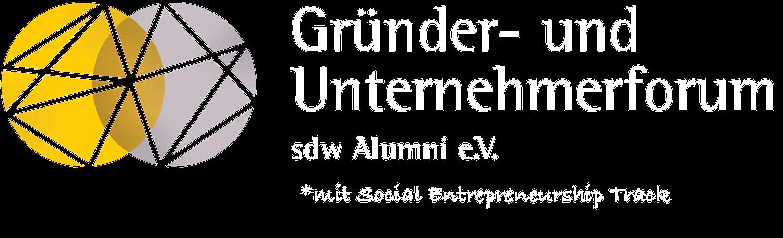 Gründer- und Unternehmerforum des sdw Alumni e.V.